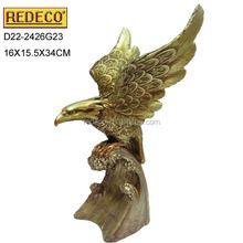 Resin eagle figurine,gift and award trophy various eagle statues for sale