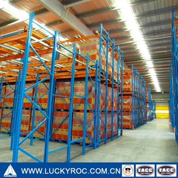Heavy Duty Push Back Racking