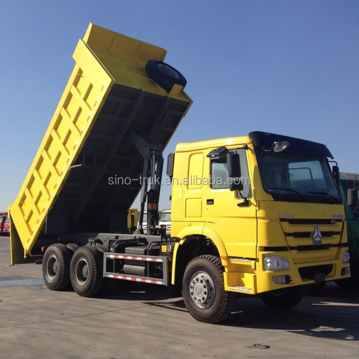 10 wheels 371hp Howo brand tipper 20ton truck
