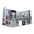 Detian Offer Tradeshow booth/exhibition stall/exhibition display stand