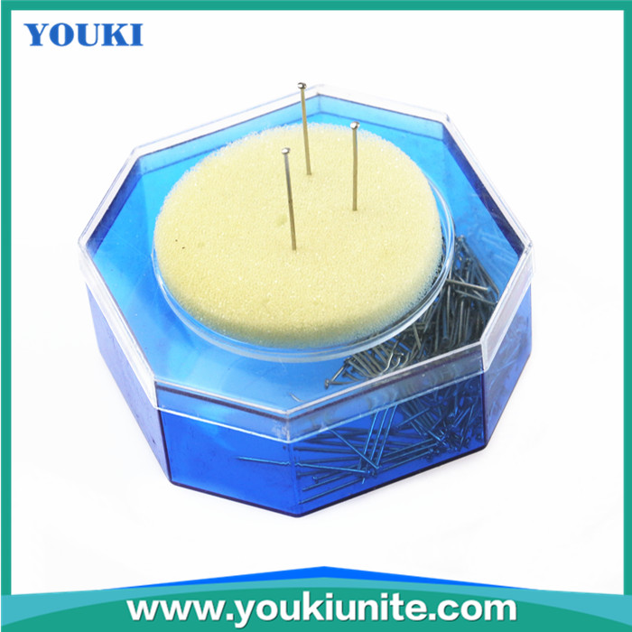 high quality cushion box packed 32mm tailor dressmaker pin with best price