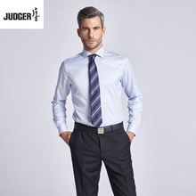 made to measure custom tailored latest formal stylish men wearing shirts with 100% cotton