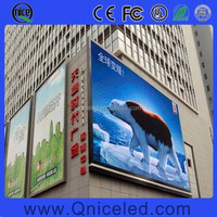 Building Wall mounted LED Display P16 outdoor LED tv advertising screen billboard price