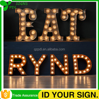Best Quality Led Light Up Decorative Wooden Signs