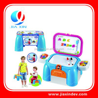 DIY kids Learing Desk Play game table toys