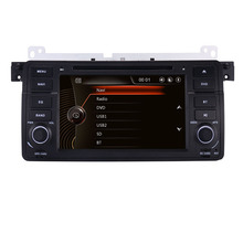 "7""HD Touch Screen Car DVD player for BMW E46 dvd GPS Navigation With 3G bluetooth Radio RDS USB SD Steering wheel Control Canbus"