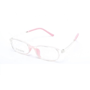 Eco-friendly kids eyeglasses simple children glasses high quality stock optical eyewear frame