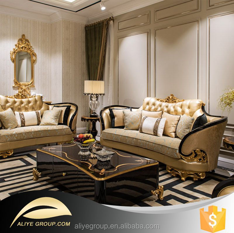 As06 Royal Sofa Luxury Sofa Sets For Living Room Buy