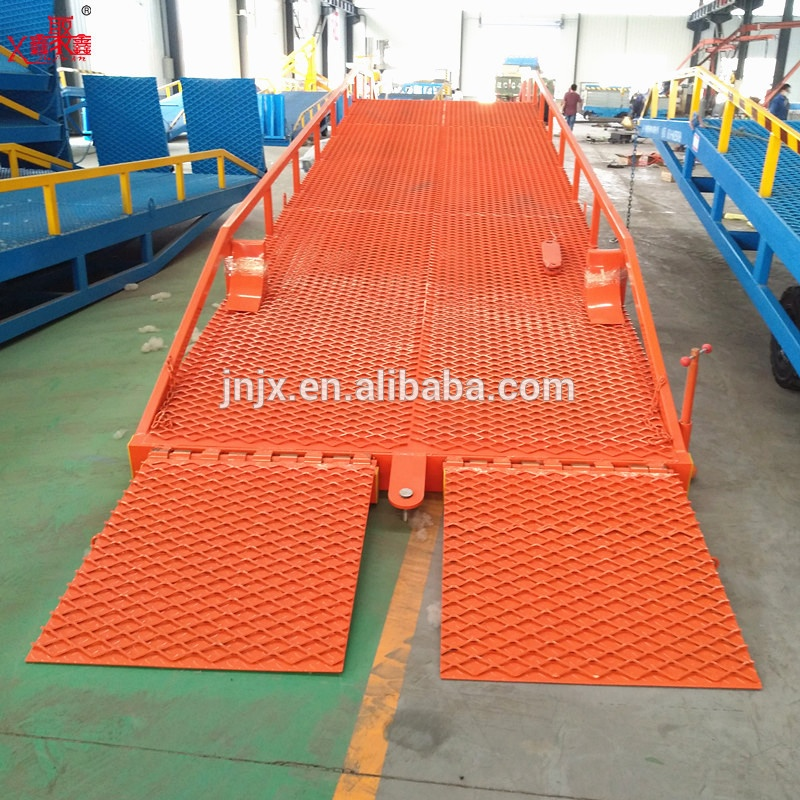 CE fixed truck ramp loading hydraulic dock leveler manufacturer