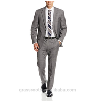 high quality latest design italy slim business suit coat pant men fashion office uniform business suits