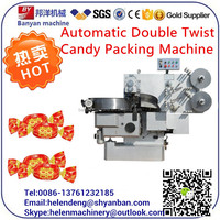 YB-600S Full Automatic Double Twist Nougat /Candy Packing Machine