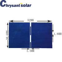 Small Poly Solar Cell piece for Small Solar Panels 50*30.6mm