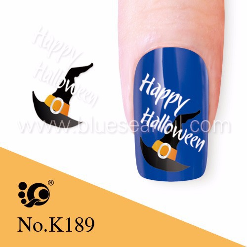 water nail sticker halloween nail arts design, beauty nails products