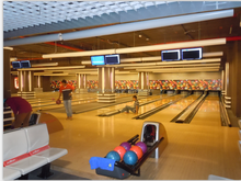 used bowling line low price China sale bowling equipment for BWK