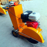 Top quality concrete saw road cutting machine, portable steel plate cutter