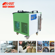 high frequency water hho hydrogen oxygen small portable gas welding machine specifications