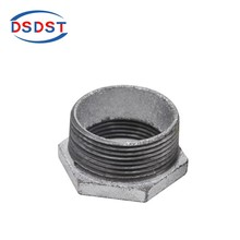 Wholesale Factory price cast iron elbow pipe fittings locknut and bushing
