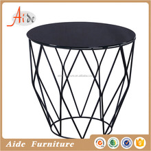 Sofa side tables metal frame end table