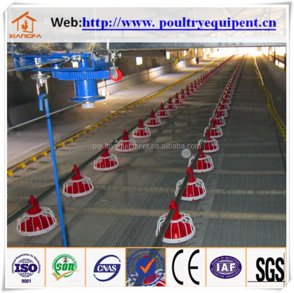 factory price automatic broiler feeding equipment for poultry farm house