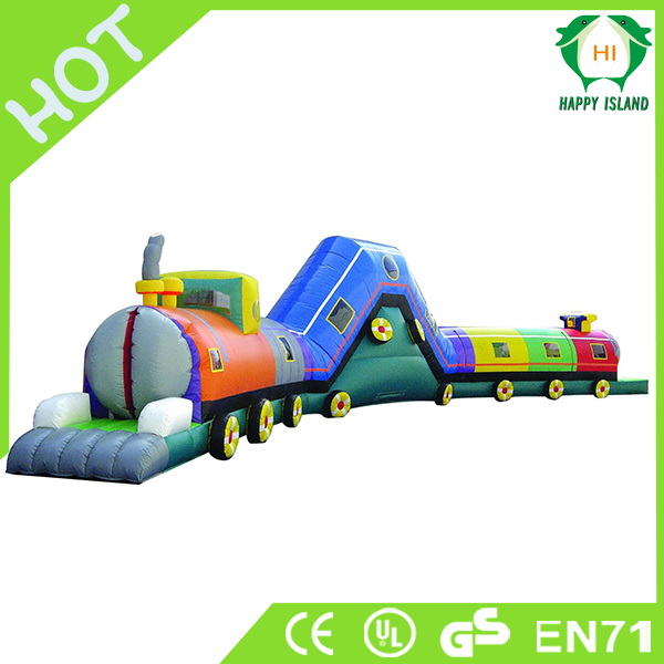 HI high quality big inflatable worm tunnel game for kids