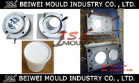 Factory directly sales quality assurance design and processing plastic injection 10 litre plastic paint bucket mould