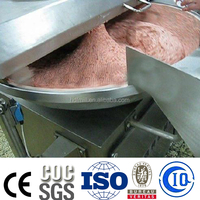 sausage factory industrial Bowl Cutter Meat Cutting Machine