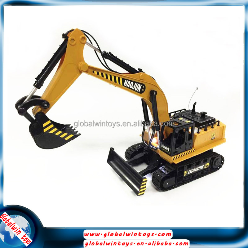 360 Degree Rotation Rc Construction Toy Trucks Excavator ...