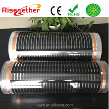 Easy For Floor Heating Film With Smart Thermostat Carbon Fiber Floor Heating Film