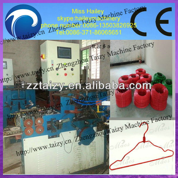 high efficiency good quality automatic cloth hanger making machine 0086-13503826925