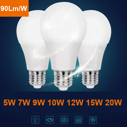 E27 plug led replacement lamp AC220-240V brightest plastic led bulbs cheap price with CE RoHS certificate
