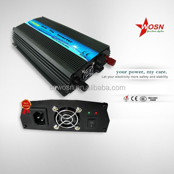 plug play grid tie inverter 1000w battery charger hybrid DC to AC inverter power inverter