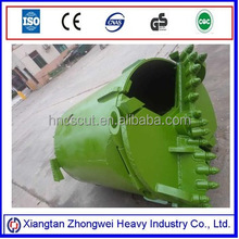 earth drilling machine rotary drilling rock bucket