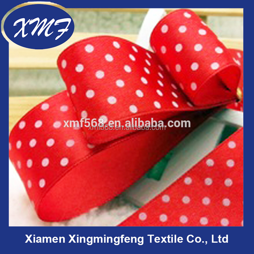 Dot color ribbon, gift ribbon, package ribbon