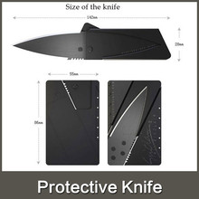 Outdoor kinfe Multi-function card tool knife Fruit knife