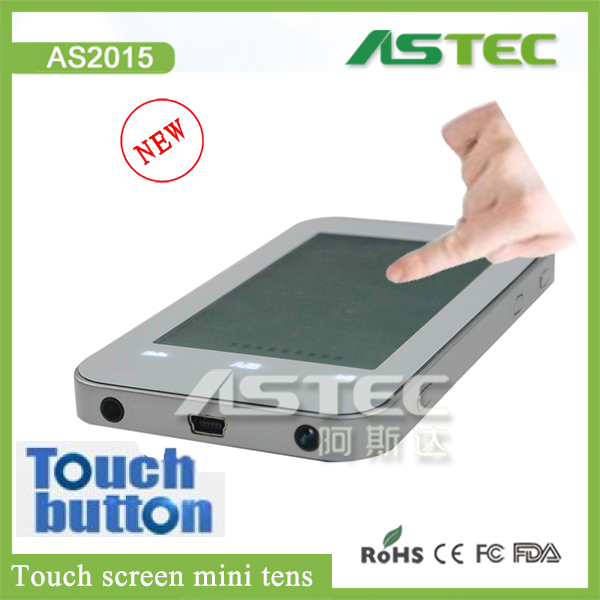 2016 new touch screen tens unit 12 modes mobile style