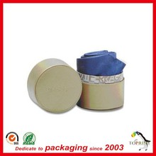 Custom round box for baby clothing packaging paper tube for t shirt or soft luxury clothes