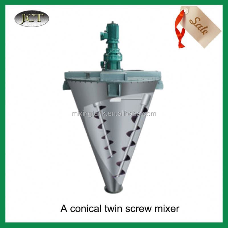 JCT animal feed mill mixer For Powder and Fluid/Vertical Dual Screw Mixer