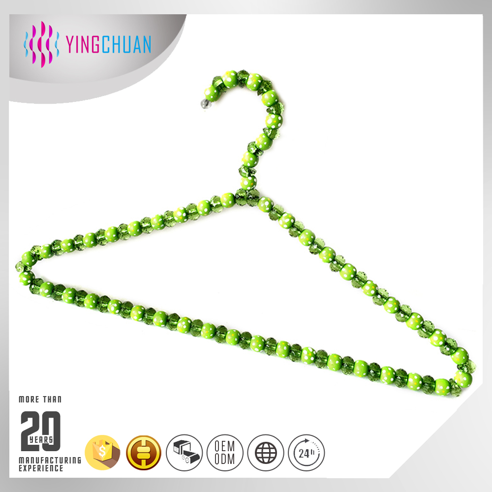 Fashion clothing acrylic pearl hanger