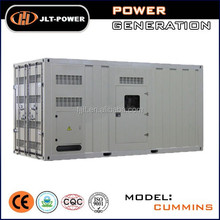 Powerful 1000kw containerized soundproof diesel generator