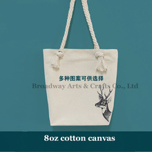 Shoulder eco organic canvas tote cotton bag