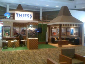 THIESS INDONESIA STAND in COALTRANS 2011