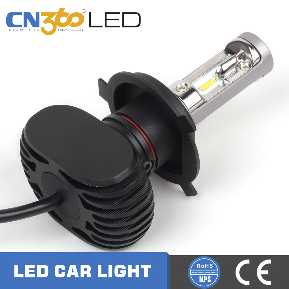Led head light H4 H13 9004 9007 auto CSP head light bulb, led headlight car kit
