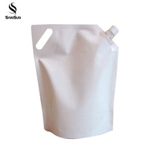 Liquid Soap Plastic Packaging Bag With Sprout Stand Up Pouch For Liquid Soap