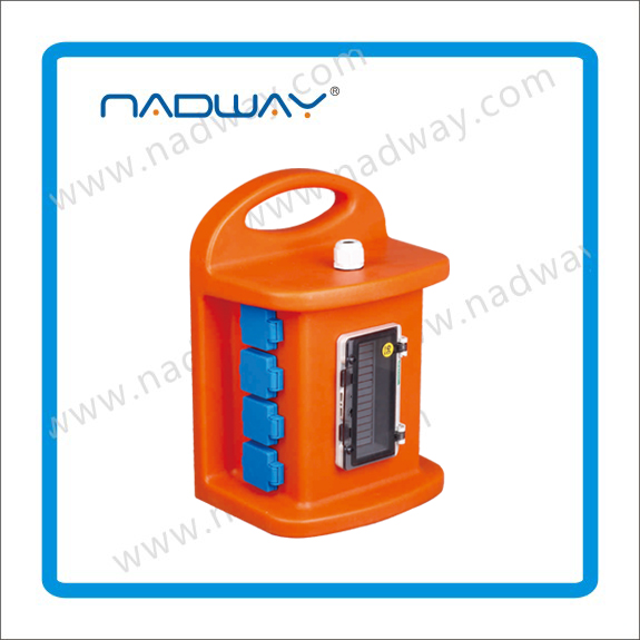 Nadway IEC 3Pin Portable Electrical Power Box/Distribution Board