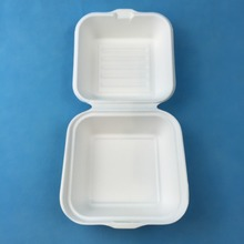 "Biodegradable Bagasse 9"" Clamshell"