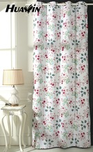 countryside style living room curtain,Countryside style garden floral fabric curtain