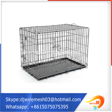 China manufacturer wholesale folding two door large rabbit cages