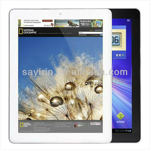 Allwinner A31 Quad Core 9.7 inch android mid tablet pc manual