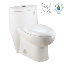 Sanitary ware siphonic one piece toilet cUPC CSA WaterSense HET Elongated