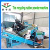 Radial truck tyre recycling production line / waste truck tire recycling plant